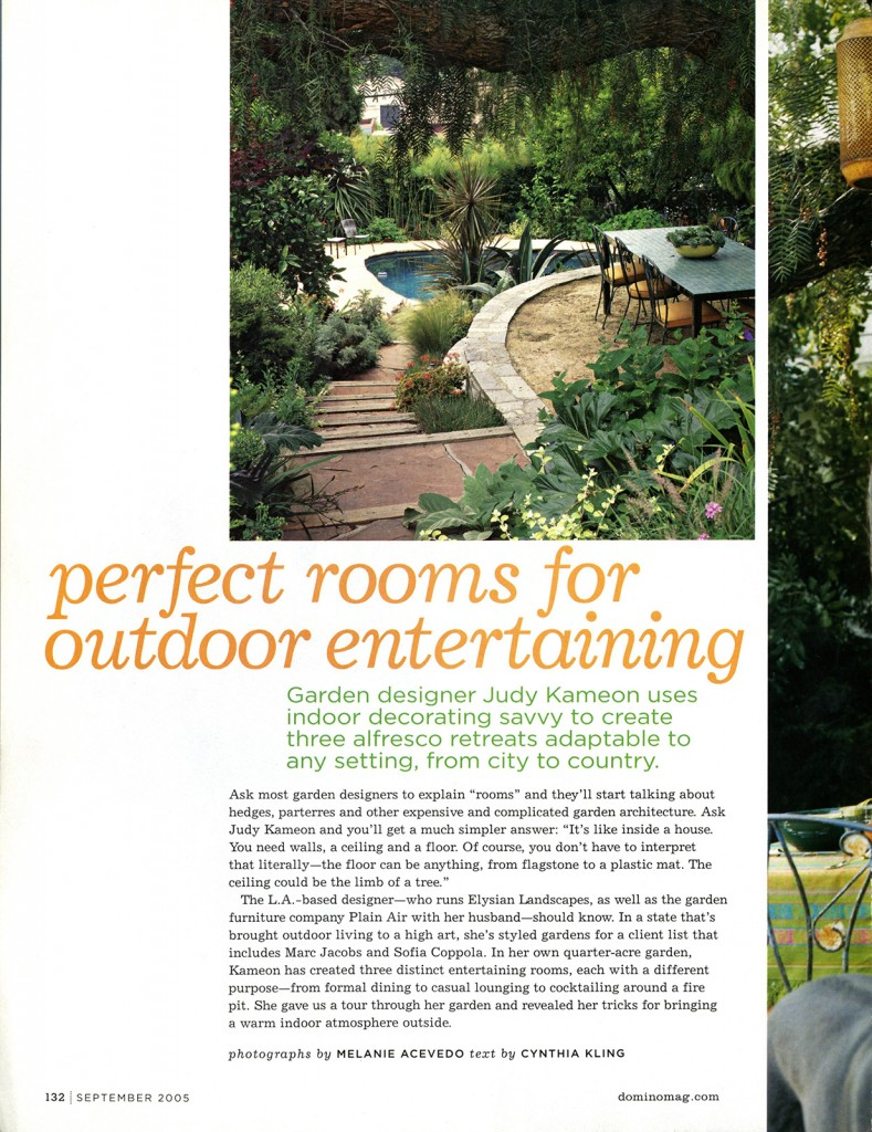 Domino_Perfect Rooms for Outdoor Entertaining
