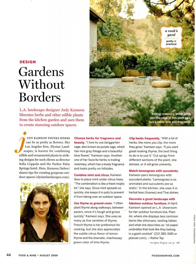 Food & Wine_Gardens Without Borders