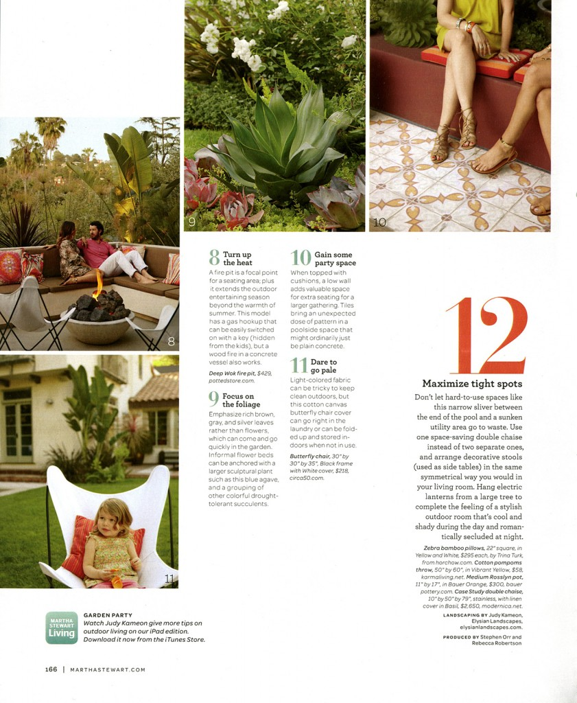 Martha Stewart Living_12 Lessons in Outdoor Living